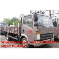 cheap price top quality howo light drop side lorry trucks 5 ton, facotory direct sale SINO TRUK HOWO brand lorry truck Manufactures