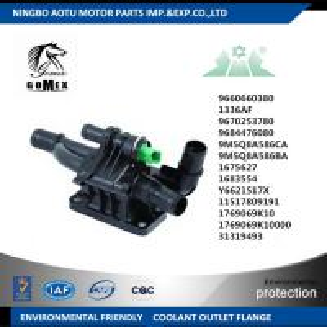 Coolant Outlet Flange Thermostat Housing Assembly 1336AF 9660660380 1675627 for CITROEN PEUGEOT FORD  FIAT MINI MAZDA Manufactures