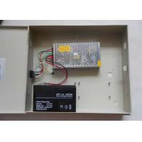 Quality Single Output CCTV Power Supplies , 12 Volt DC 10Amp Switch Mode Power Supply for sale