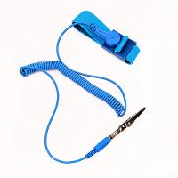 cleanroom coiled cord static dissipative ESD antistatic wrist band Manufactures