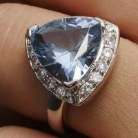 Attractive Sapphire 925 Silver Ring, OEM/ODM Orders Welcomed Manufactures