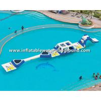 Popular Rent Inflatable Water Park , Inflatable Aqua Park For Child Manufactures