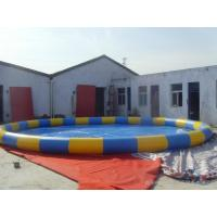 Quality Large Inflatable Swimming Pool , Professional Design Blow Up Swimming Pools for sale