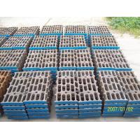 Better Toughness High Mn Steel Mill Liners Casting For Cement Mill / Coal Mill Manufactures
