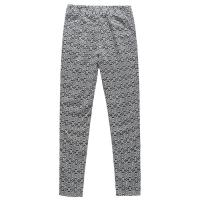 Grey Long Leg Ladies Casual Pants Cotton Linen Type European Style