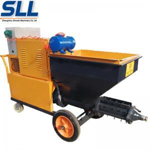 380V/7.5W CE Certificate Gypsum Cement Rendering Spray Machine Adhesive Plaster Machine Manufactures