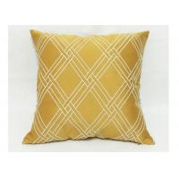 Modern Style Decorative Sofa Pillows , Embroidered Geometric Throw Pillows Manufactures