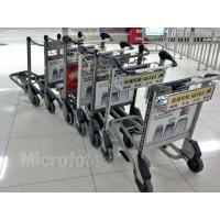 Light Duty Automatic Brake Airport Luggage Trolley 30 Litre 520x225x150mm Manufactures