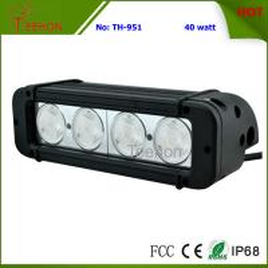 Quality 40 Watt 8 Inch Single-Row CREE LED Light Bar SXS Light bar for 4X4 off-Road for sale