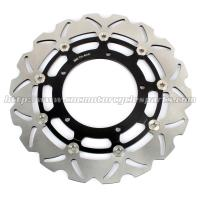 Dirt Bike Floating Disc Brake / Stainless Steel Brake Discs With 5 Holes Manufactures