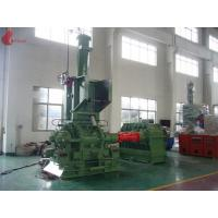 1500kg / h 400KW Alloy wear ring 160L Internal Mixer Machine Thin oil lubrication system Manufactures