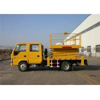 Buy cheap High Speed 22M Telescopic Aerial Work Platform Truck 4x2 Drive from wholesalers