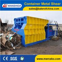 Customized Automatic Container Scrap Shear box shear for propane tank gas tank manufacture price Manufactures