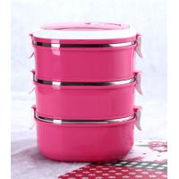 stainless steel  Insulated lunchbox with  colorful   paint Manufactures