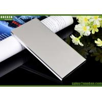 Dual USB Mobile Power Bank Portable External Battery 6000mAh With Charging Cable Manufactures