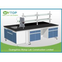 Scratch Resistance University Laboratory Benches And Cabinets , Science Lab Benches Manufactures