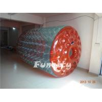 0.8 or 1.0mm Thickness TPU Inflatable Water Roller Customized Size Manufactures