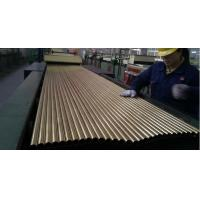 SEAMLESS BRASS TUBE ASTM B111 MATERIAL C44300 25.4MM*1.245MM*12995MM FOR CONDENSOR Manufactures