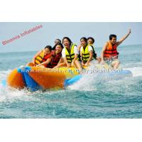 Kids Water Sports Inflatable Towables , Commercial Adults Banana Boat Float Manufactures