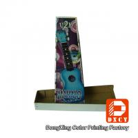 Sturdy Custom Corrugated Cardboard Boxes Laser Colorful Printing For Guitar Packaging