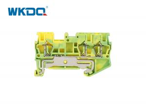 JST 2.5-TW-PE Phoenix Contact Terminal Block CE Certificate Twin Grounding Snap On Mounting Manufactures