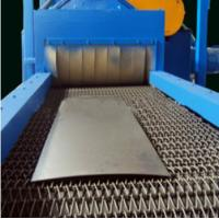 Professional Wire Mesh Shot Blasting Machine For Light Castings And Forgings Manufactures