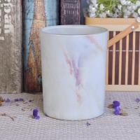 Hydrographics Transfer Printing Glass Candle Holder For Wedding Decoration Manufactures