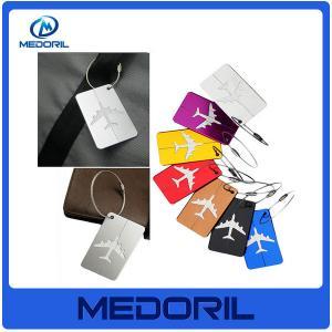 Wholesale aluminium alloy luggage tag custom design cheap travel luggage tag Manufactures