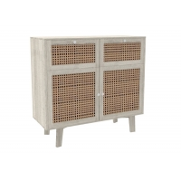 BSCI 40KG Wood Bedside Table With Paper Veneer Manufactures