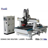 HSD Spindle Servo Motor 4 Axis CNC Router Machine With 300 Degree Swing Spindle Head Manufactures