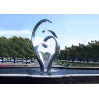 Contemporary Stainless Steel Water Feature For Park Decoration Easy Install / Maintain Manufactures
