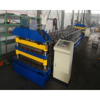 Quality Double Layer Aluminum Roofing Sheet Roll Forming Machine Metal Tile Making Machine In China for sale