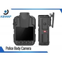 1296P Infrared Waterproof HD Body Camera Battery Life Long H.264 MPEG4 Manufactures