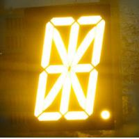 1 Single Digit 16 Segment Alphanumeric Numeric LED Display Low Current Operation Manufactures