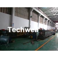 GI , Carbon Steel Top Hat Purlin Cold Roll Forming Machine With Manual / Hydraulic Uncoiler Manufactures