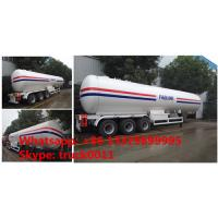 CLW brand ASME standard 57100Liters propene gas tank semitrailer for sale, best price 57.1M3 Lpg tank trailer for sale Manufactures