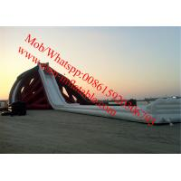 inflatable slide water beach largest inflatable water slide giant water slide for adult Manufactures