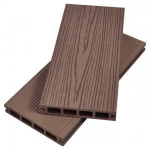 Hot Sale Waterproof composite hollow dark grey outdoor wpc decking Joist Manufactures