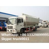 dongfeng Cummins190 20cbm Euro 3 bulk feed truck for sale, poultry and livestocks farm-oriented feed transported truck Manufactures