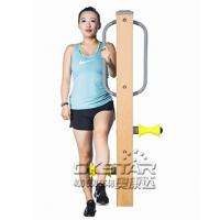 outdoor fitness equipments WPC materials based leg massager Manufactures