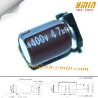 400V 47uF 18x21mm SMD Capacitors VKO Series 105°C 6,000 ~ 8,000 Hours SMD Aluminum Electrolytic Capacitor  RoHS Manufactures