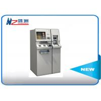 Interactive free stand bill payment kiosk with cash acceptor Manufactures