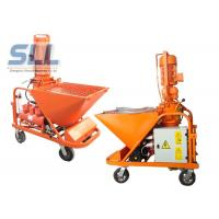 Self - Suck 3 MPa Model Mortar Spraying Machine With Long Convey Distance Manufactures