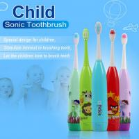Cartoon Children'S Sonicare Toothbrush Customized Color With 3 Brush Heads Manufactures