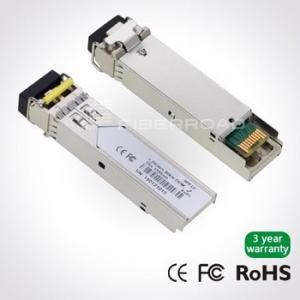 China 1.25Gbps DWDM SFP 80KM Optical Transceiver Module For Gigabit Ethernet on sale