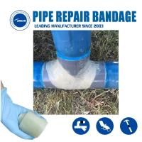 Quality Water Activated Fiberglass tape Repair gas and water pipe leak crack Quick Patch Pipe Reinforce bandage for sale