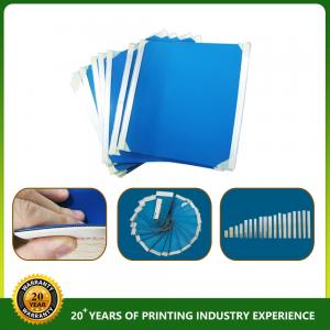 YY355 rubber blanket 1.95mm thickness blue color Manufactures