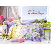 King Size / Twin Size Four Piece Cotton Bedding Sets Reactive Printing Manufactures