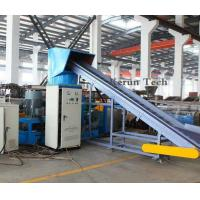 380V Plastic Pelletizing Machine / PP or PE Film Crushing And Cleaning Production Line Manufactures