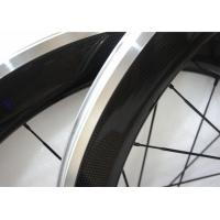Quality Matte / Glossy Finishing Carbon Alloy Wheels 700C With Straight Pull Powerway R13 Hub for sale